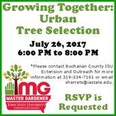 Urban Tree Selection