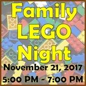 Family LEGO Night