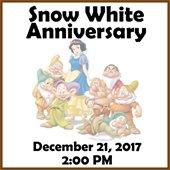Snow White Anniversary