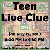 Teen Live CLUE