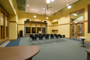The public library community room