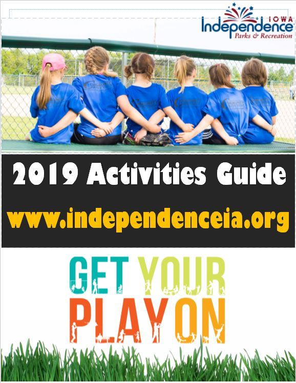 2019 Activities Guide Cover snip