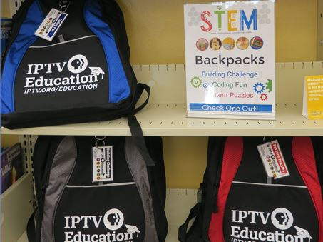 STEM backpacks Spotlight