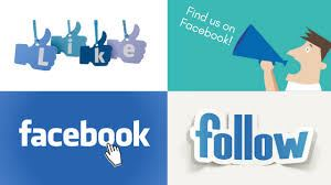 like us and follow us on facebook